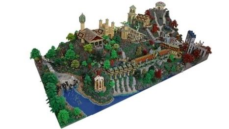 La maison d'Elrond du Seigneur des Anneaux en 200 000 blocs LEGO | The Blog's Revue by OlivierSC | Scoop.it