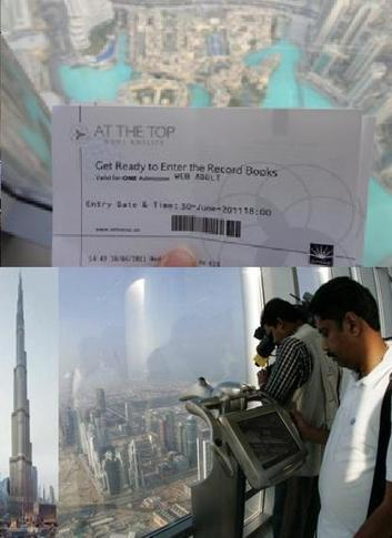Dubai Burj Khalifa Tickets - Tours At the Top Observation Deck | Travel guide | Scoop.it