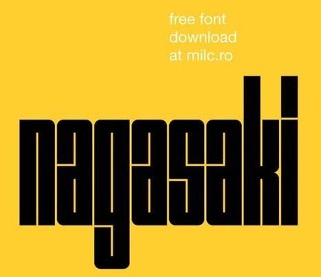 33 Best Free Fonts | Axxcom | Scoop.it