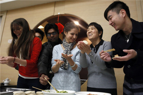 Foreigners feasting on festive delights - China.org.cn | China Beat | Scoop.it