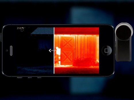 Bring thermal vision to your phone with this camera add-on | Amazing Science | Scoop.it