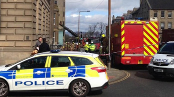 Around 35 firefighters tackle blaze at seven-storey office block | Today's Edinburgh News | Scoop.it
