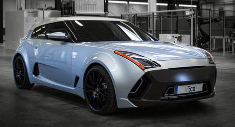 New InEco Concept Coupe Looks Like a Hyundai Veloster…in Electric Drag [125 Photos & Videos} - Carscoops | Automobiles, Supercars - constructeurs automobiles | Scoop.it