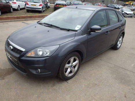 Salvage 2008 grey Ford Focus Zete with VIN WF0PXXWPDP8 on auction | VEHICLES on Auction | Scoop.it