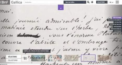 Gallica. Le bel âge de la bibliothèque numérique de la BNF – Les Outils Tice | Les outils du Web 2.0 | Scoop.it