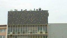 Strasbourg : une oeuvre d'art monumentale orne la façade de l'usine Sati - France 3 Alsace | Le mécénat culturel dans les musées | Scoop.it