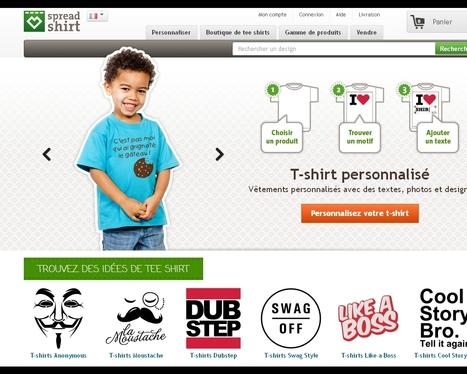 Spreadshirt : dix ans de personnalisation | Customer-centricity | Scoop.it
