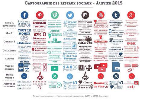 Cartographie des Réseaux Sociaux - Janvier 2015   - LE BLOG DIGITAL | TUICE_Université_Secondaire | Scoop.it