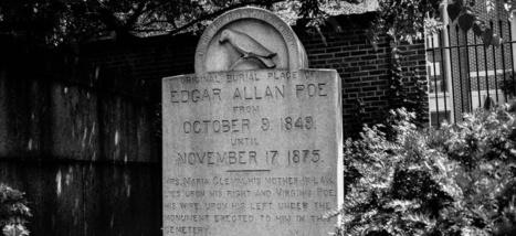 L'étrange silhouette qui hante la tombe d'Edgar Allan Poe | Sur les livres, l'édition, les mots: Infos, technologie, nouveautés... | Scoop.it