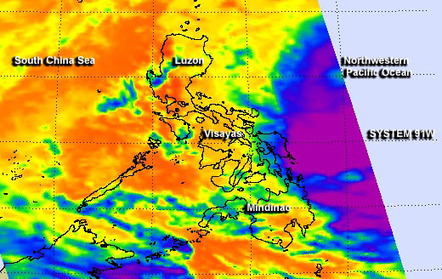 NASA sees deadly System 91W still soaking Philippines | Sustain Our Earth | Scoop.it