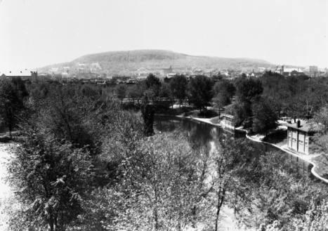 Vue d'ensemble du parc La Fontaine, 1935   Photos ancestrales de Montréal   Scoop.it