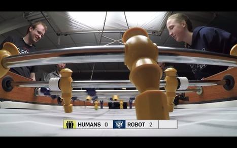 Ça y est, les robots nous battent aussi au baby-foot | Une nouvelle civilisation de Robots | Scoop.it