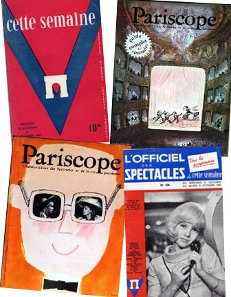 """Pariscope"" est mort, vive ""L'Officiel des spectacles"" ! 