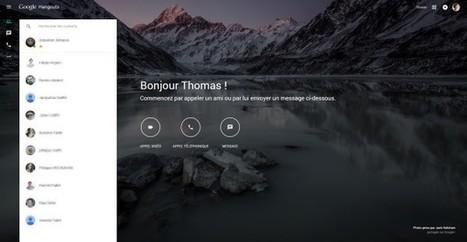Une version desktop pour Google Hangouts - Blog du Modérateur | Numérique & pédagogie | Scoop.it