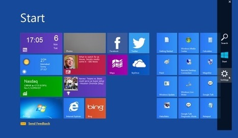 Get Windows 8 Start Screen & Charms Bar In Windows 7 | Time to Learn | Scoop.it