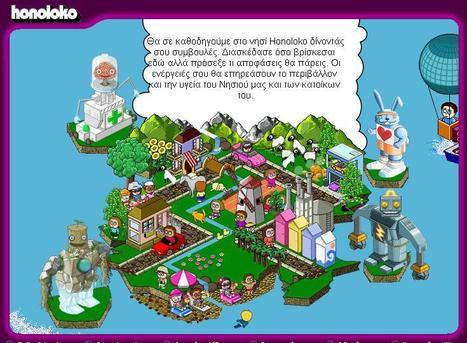 Honoloko - The environmental game - Very similar to the real world, on Honoloko your actions really make a difference to your surroundings. | omnia mea mecum fero | Scoop.it