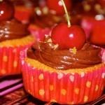 Cupcakes Choco-Cerise | Les p'tits plats | Scoop.it