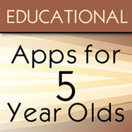 Educational iPad Apps for an Advanced 5 Year Old Child | iPad News, How to and Family Friendly iPad Apps Reviewed | Scoop.it