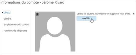 Ajouter votre photo d'utilisateur à Office365 - Support Office | Sharepoint 2013 FR - OFFICE 365 - YAMMER | Scoop.it