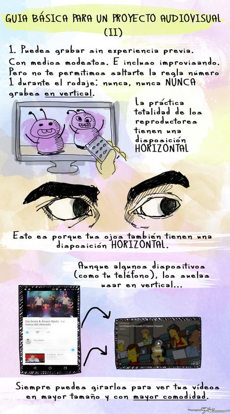 Guía básica para la elaboración de proyectos audiovisuales en el aula (II) | Film and language teaching and learning | Scoop.it
