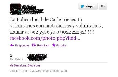 Redes sociales y emergencias: el caso de #ardevalencia | Salud 2.0 | Scoop.it