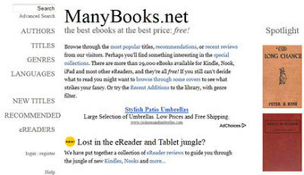 7 Great Websites for Grabbing Free Nook Books | Library Media Center Selection Tools Toolkit | Scoop.it