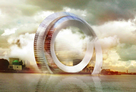 The Dutch Windwheel is not only a silent wind turbine – it's also an incredible circular apartment building | Teaching Visual Art | Scoop.it