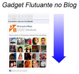 Colocar Gadget Flutuante no Blogger   GuiaDoDinheiroOnline   Scoop.it