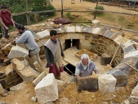 Quand une équipe de passionnés bâtit un château avec les techniques du Moyen-âge | Ca m'interpelle... | Scoop.it