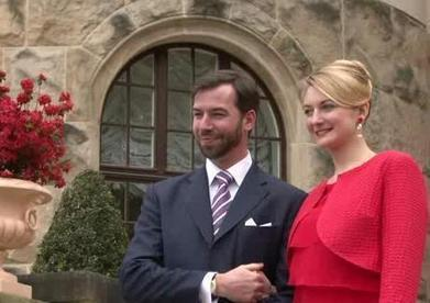 Video: Guillaume and Stephanie announce engagement to press | Luxembourg (Europe) | Scoop.it