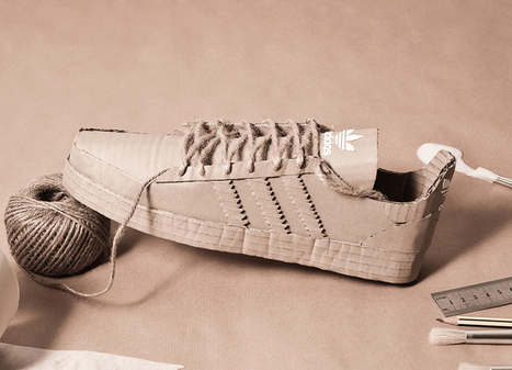 adidas originals handcrafted out of cardboard by chris anderson | sports | Scoop.it