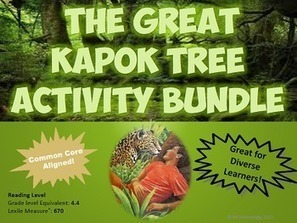 The Great Kapok Tree Reading Lessons & Activities Bundle | Rainforest CLASSROOM: Inspiration, Resources,and More | Scoop.it