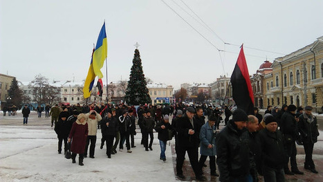 Right Sector Attend Rally Against Kirovograd Name Change (VIDEO) | Global politics | Scoop.it