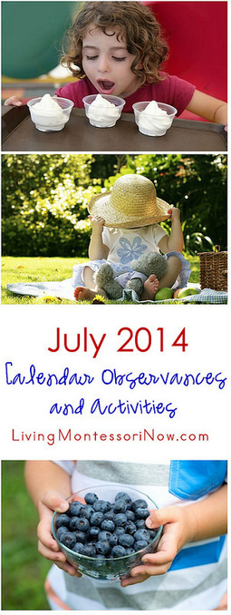 July 2014 Calendar Observances and Activities | Montessori Inspired | Scoop.it