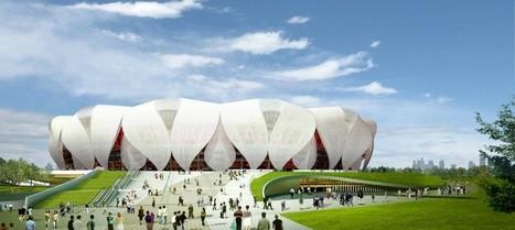 NBBJ and CCDI Break Ground on Hangzhou Sports Park | Architecture, Design, Art, Technology | Scoop.it