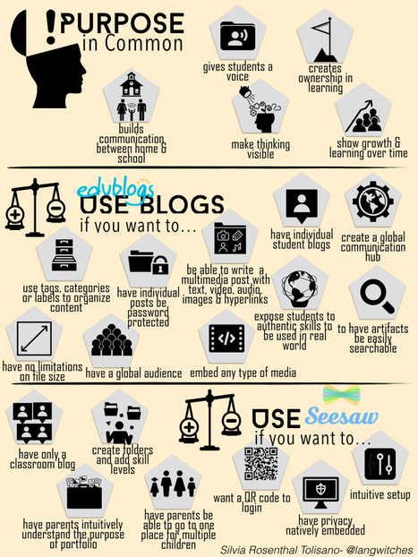 Digital Portfolios: Blogs VS. Seesaw | New learning | Scoop.it