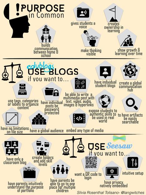 Digital Portfolios: Blogs VS. Seesaw | New learning | Scoop.it