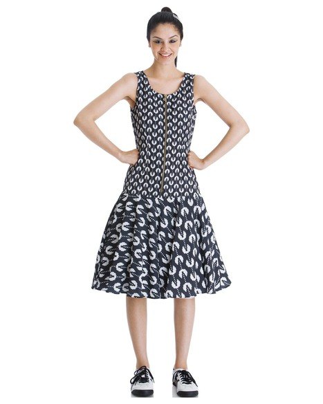 Get the 'litte miss gamer' monochrome dress for women online at Stylista   Stylista   Scoop.it