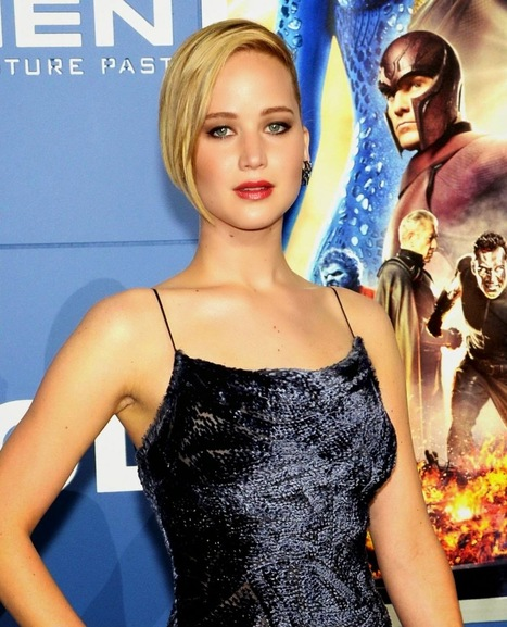 """Jennifer Lawrence at Premiere of """"X-Men: Days Of Future Past"""" in New York - PhotoFunMasti   Hot & Sexy Actresses, Models, Women Photos...   Scoop.it"""