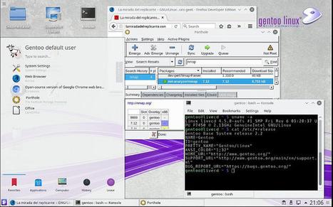 Disfruta de Gentoo con su último LiveDVD | Noticias | Scoop.it