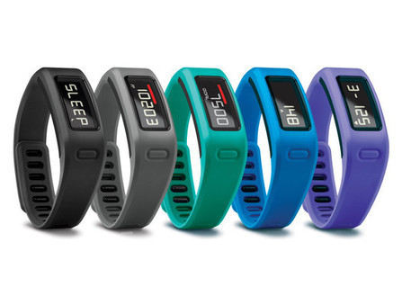 Garmin takes on Nike and Fitbit with the Vivofit fitness band - TechHive | quantified self and lifelogging | Scoop.it