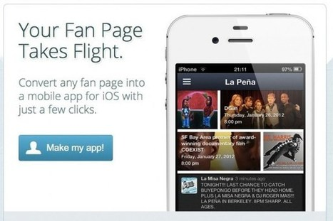 Turn your Facebook fan page into a mobile Web app | Mobile Marketing Strategy and beyond | Scoop.it