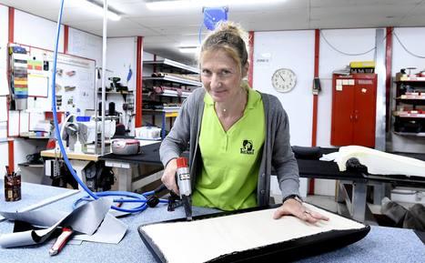 [Vidéo] Sabrina est sellier garnisseur   Métiers, emplois et formations dans la filière cuir   Scoop.it