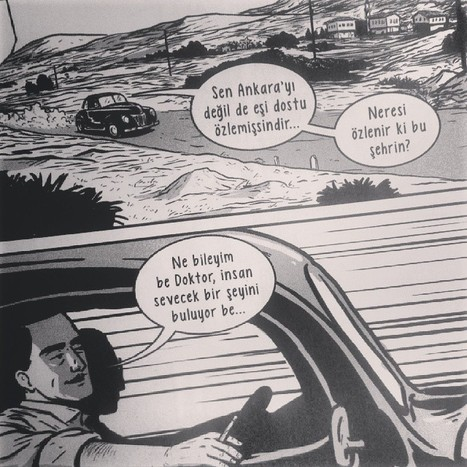 Levent Cantek Ankara Üçlemesi (Grafik Roman) | Ankara Fenomenleri | Scoop.it