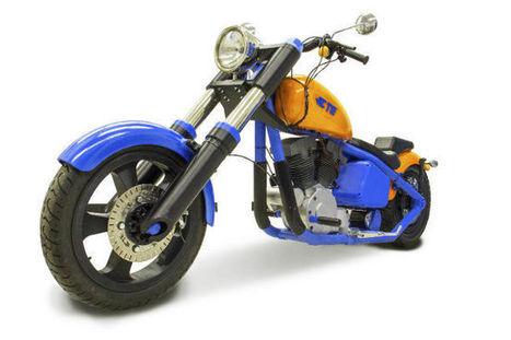 Une moto électrique en plastique, imprimée en #3D | Vous avez dit Innovation ? | Scoop.it