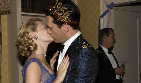 Happy New Year! Mad Men's Most Memorable Kisses - Mad Men - AMC | Mad Men | Scoop.it