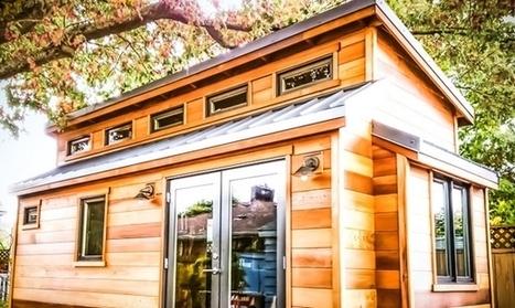 Salsa Box : la Tiny House à auto-construire   Efficycle   Scoop.it