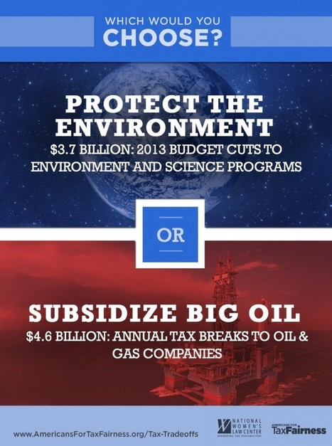 USAction – Don't cut the environment, cut Big Oil subsidies instead! | Sports Facility Management | Scoop.it