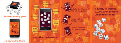 Rory's Story Cubes® for iPhone | Rory's Story Cubes | Visual Innovation | Scoop.it