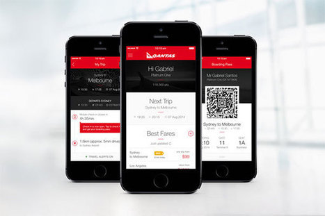 Qantas launches personalised end-to-end iPhone app | Travel and Mobile Technology | Scoop.it